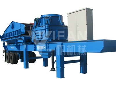 Mobile Sand Making Machine -01