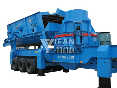 Mobile Sand Making Machine -02