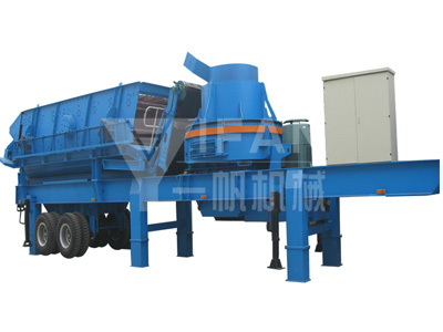Mobile Sand Making Machine -03