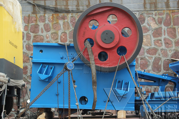 YIFAN PE500×750 jaw crusher