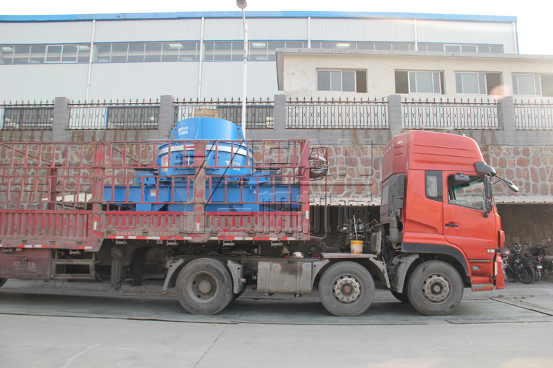 VI5000 Sand making machine sent to Pingyuan County