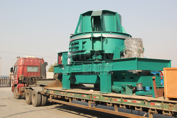 The VI8000 new type impact crusher ready to sent to Yantai, Shandong