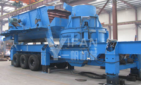 Mobile Sand Making Machine