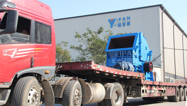 YIFAN Impact Crusher PF1214Y was Delivered to Tianjin