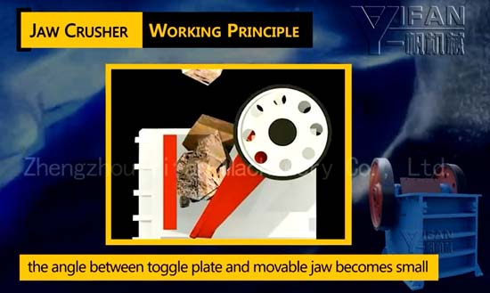 jaw crusher working principle pdf