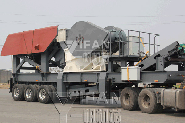 YIFAN tires mobile jaw crusher station shipments