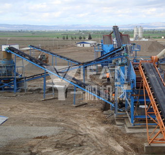 basalt stone production line