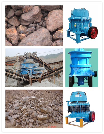 Cone crusher is a professional iron ore crushing equipment