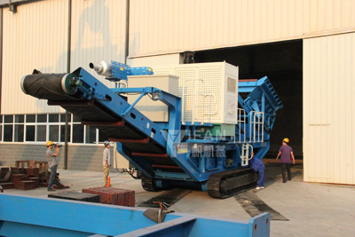 Crawler hydraulic cone mobile crushing plant station,Crawler cone crusher