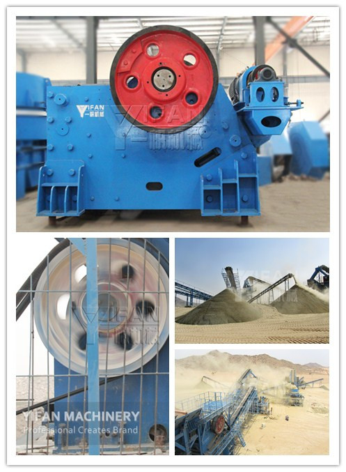Jaw Crusher is widely used in basalt crushing production line