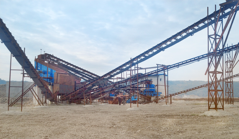 Yifan Machinery Mianyang structures of sand production line to be into production the movement