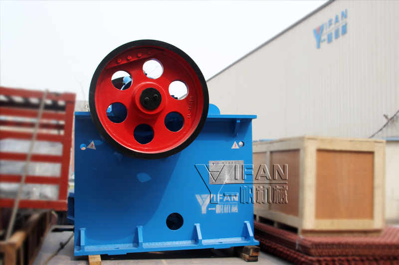 PE400*600 Jaw Crusher sent to Ecuador-shipments site 2013