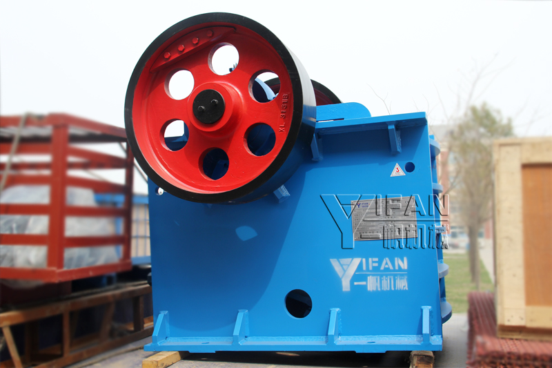 YIFAN PE400*600 Jaw Crusher sent to Ecuador