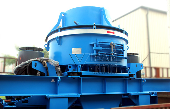 VC733M Sand making machine sent to South Africa