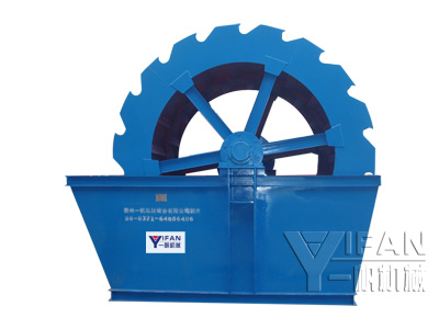 sand washing machine,XS sand washing machine,wheel bucket sand washing machine