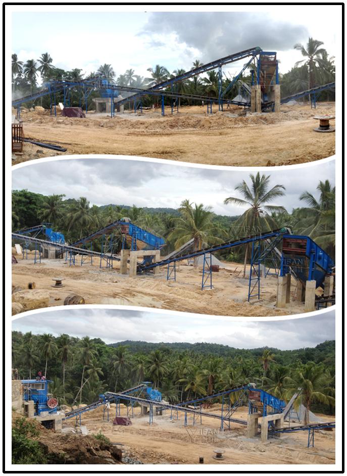 basalt crushing production line