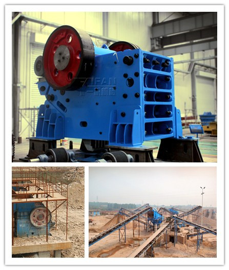 Yifan JC jaw crusher production can reach 50-1500t / h