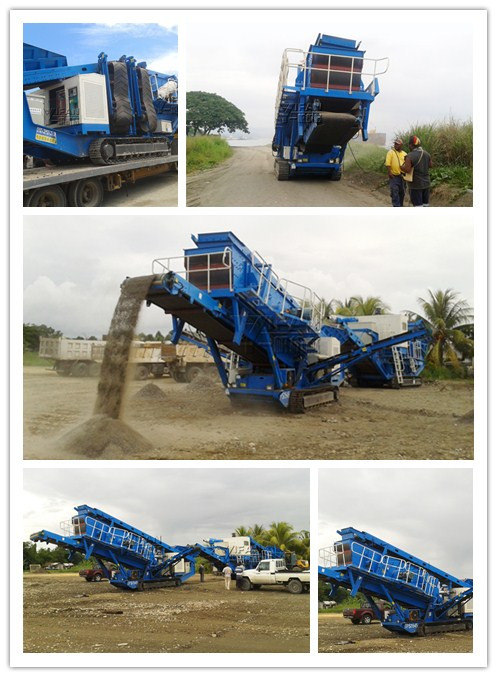 Construction waste recycling - construction waste mobile crushing machine-Crawler Mobile Impactor plants